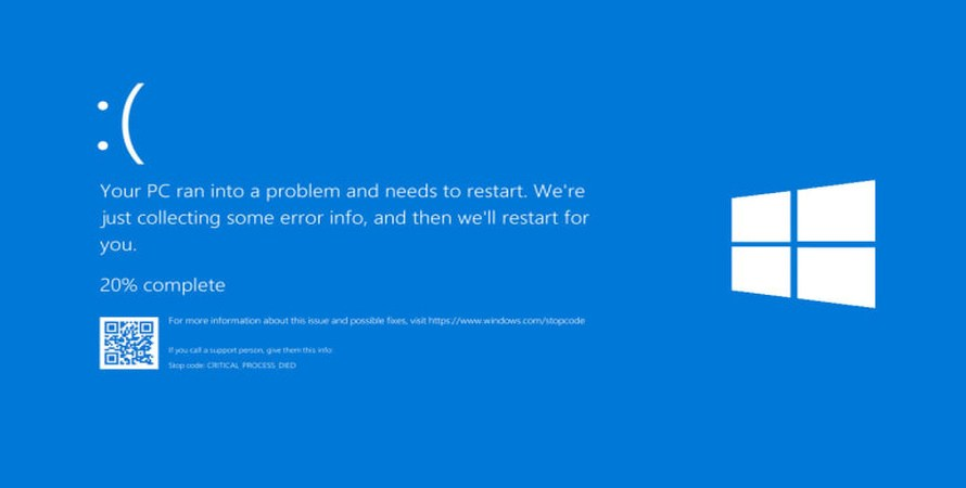 Latest Windows 10 Update Brings Back the Blue Screen of Death