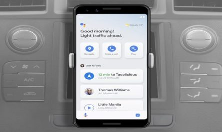 Google Assistant Driving Mode Arrives