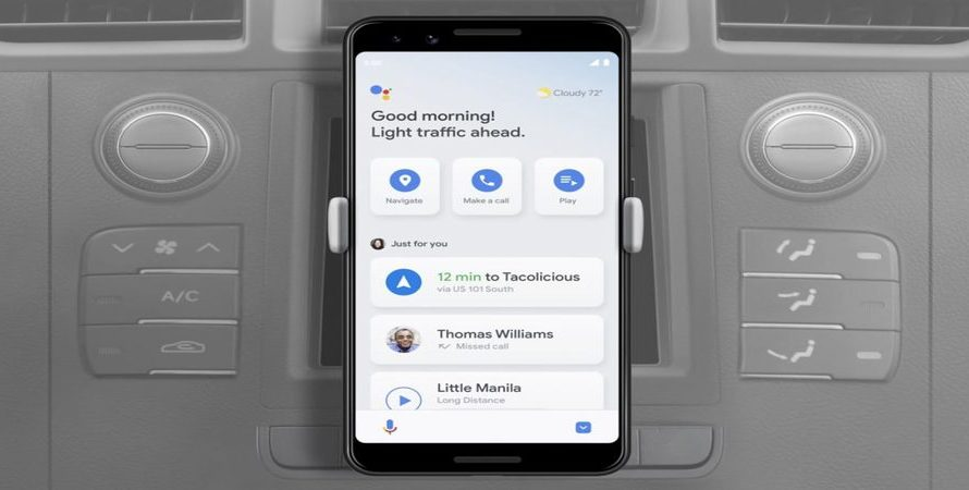 Google Assistant's Driving Mode Starts Rolling Out in the US