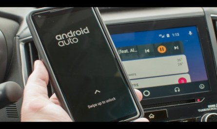 New Android Auto Music Player Search Results Field Starts Appearing