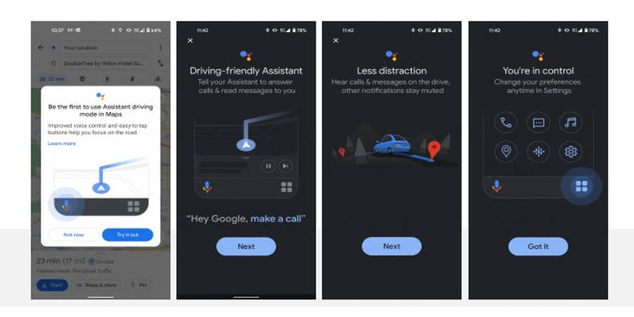 Google Assistant Driving Mode Rolls Out Widely in the US