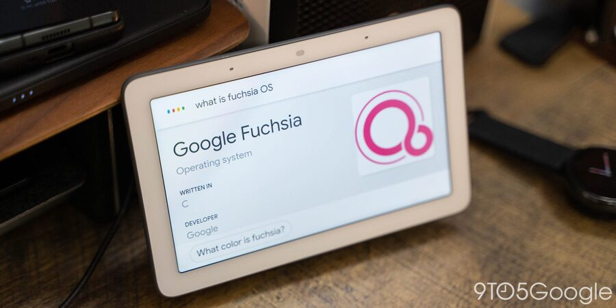 Official Google Fuchsia OS Public Release Rolls Out to First Generation Nest Hub