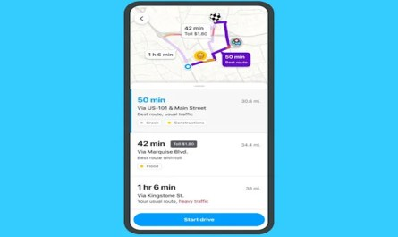 Waze Now Warns about Traffic Jams and Detours on the Pre-Drive Screen