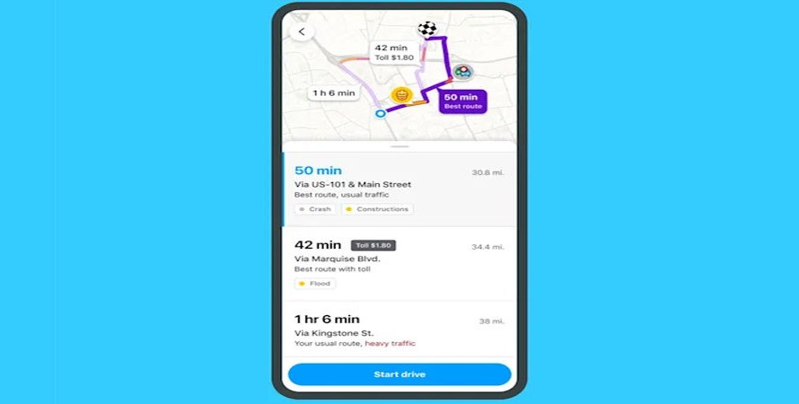 Waze can Now Tell Users about Traffic Jams and Detours before They Start Driving