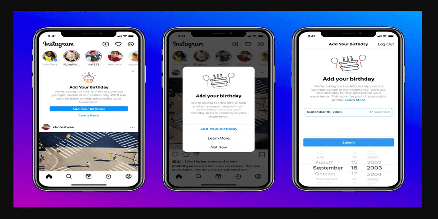 Instagram to Require Users' Birthday for Age Verification
