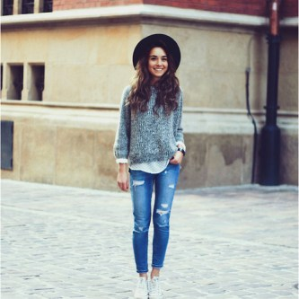 Inspiration sweater fashion