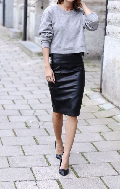 Fashion inspiration: sweaters & skirts