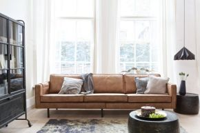 Interior inspiration: cognac couch