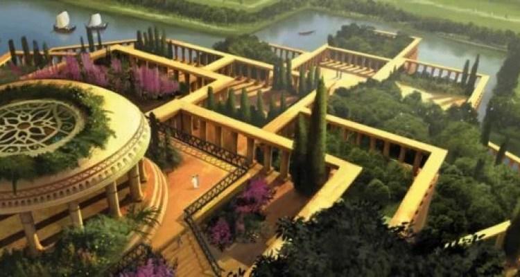 Assim seriam os Jardins Suspensos da Babilônia?