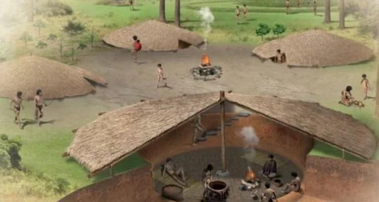 Casas subterrâneas dos Kaingang, Povos da Tradição Taquara ...