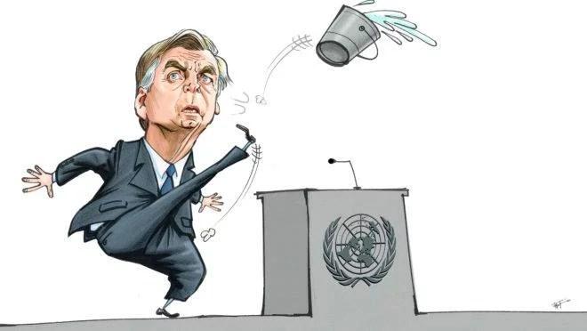 O Inominável na ONU e o Brasil imaginário