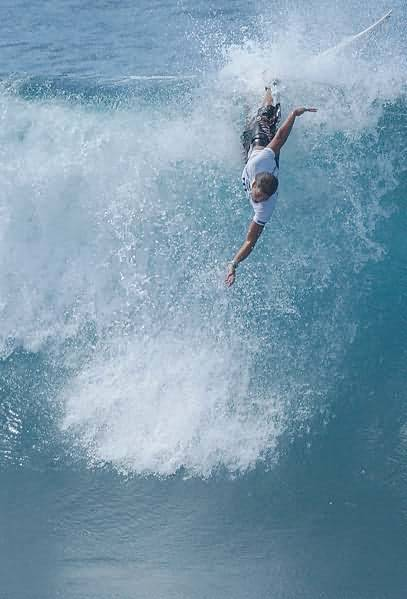 Extreme Big Wave Wipeout