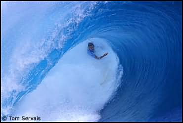 Crazy Surfer Wiping Out