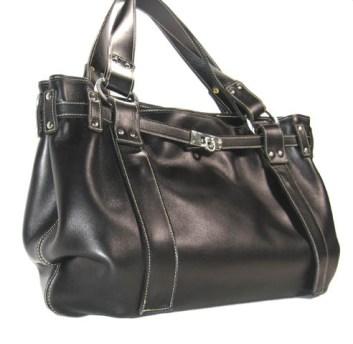 Bissac - Little Vicky Luxury Handbag - Leather designer