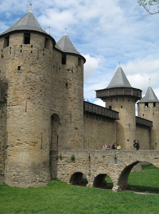 Carcassonne - Lices Hautes - The Green Guide Michelin |Uzziahs Fortified Cities