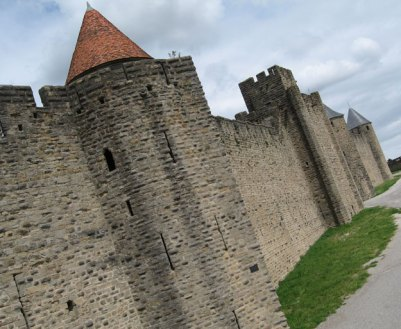 Carcassonne French fortified city