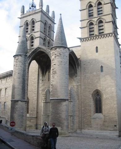 Montpellier cathedral Saint-Pierre