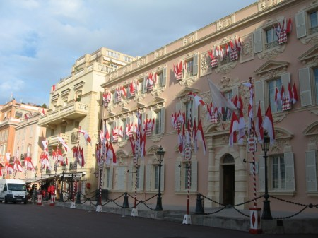 Flags in Monaco