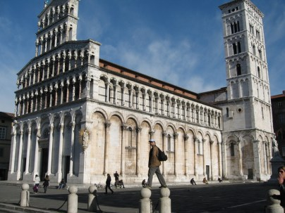 Lucca City Italy