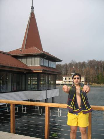 Heviz Lake Balaton Hungary