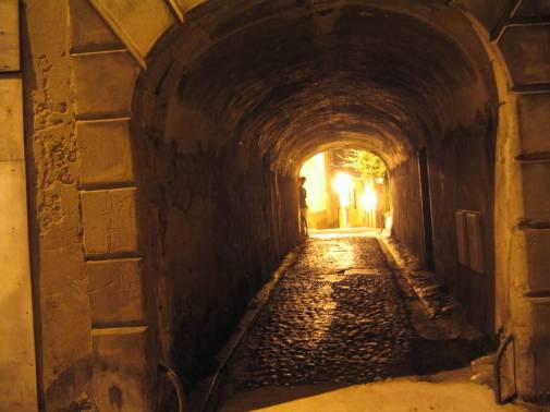 Foix France Tunnel