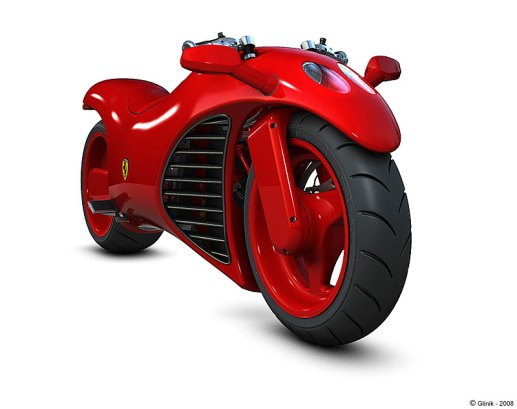 Ferrari Concept Motorbike