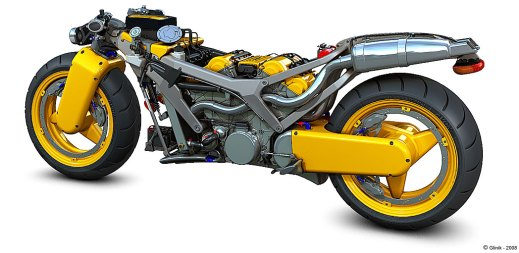 Motorcycle Ferrari