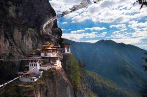 Paro Taktsang monastery Bhutan