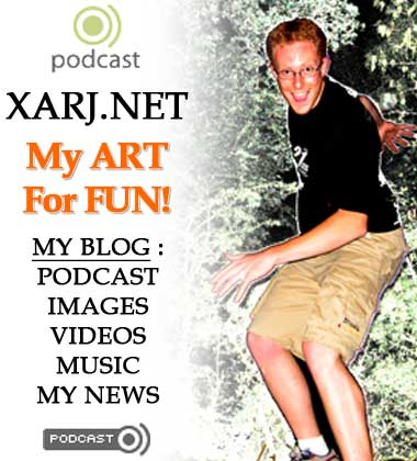 Xarj.net - podcast - blog - music - videos - photos