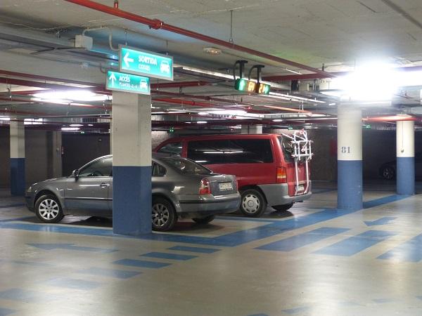 lloguer aparcament vic passeig portal rambla