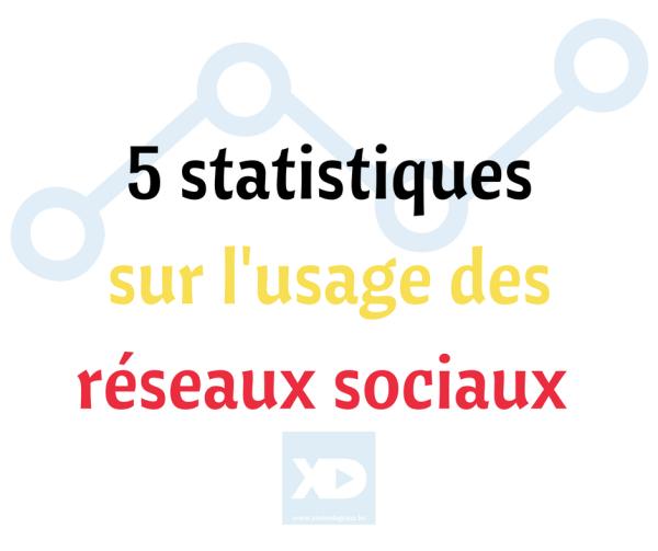Belgique _ 5 statistiques sur l'usage des réseaux sociaux (1)