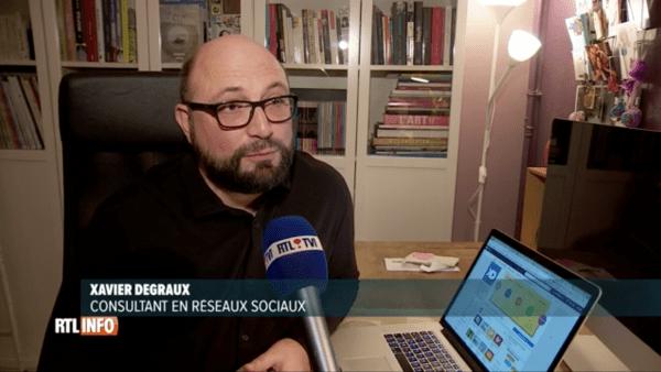 Xavier Degraux - RTL Info - Facebook seniors
