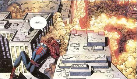 """La réaction de Spider-Man au """"9/11"""""""