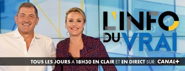 Intervention dans L'Info du Vrai, Le Mag sur Canal+ (10/01/2019)