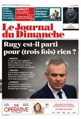 Interview dans le Journal du Dimanche (21/07/2019)