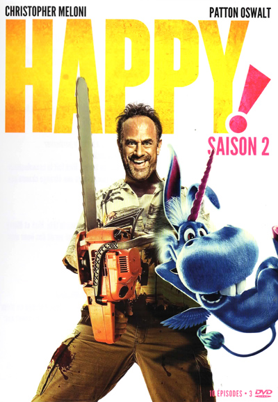 DVD Happy! Saison 2