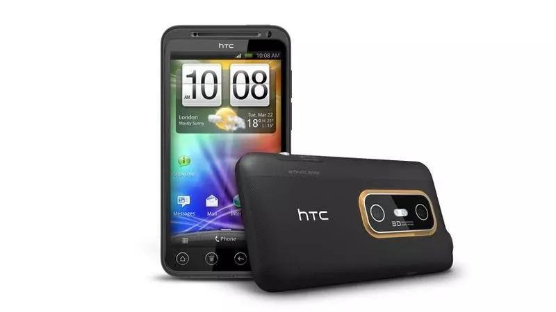 HTC Evo 3D.