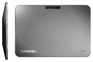 La tablette Toshiba AT 200: un design partculier.