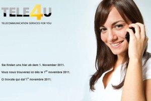 Tele2 devient Tele4U.