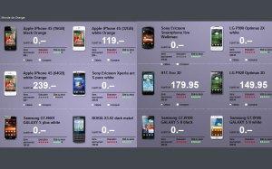 iPhone 4S et autres en Suisse: les prix d'Orange.