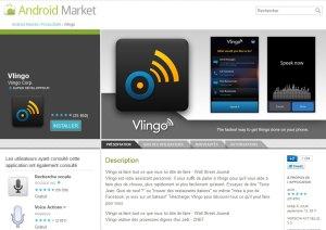 Vlingo pour Android et d'autres systèmes...