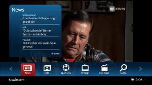 Des news sur Swisscom TV.