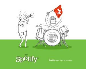 L'avenir semble être aux offres de musique en streaming, comme Spotify.