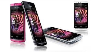 Xperia arc S de Sony Ericsson: un design à couper le souffle.