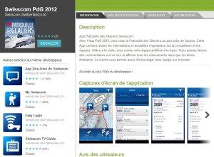 Swisscom PdG 2012 pour Android.