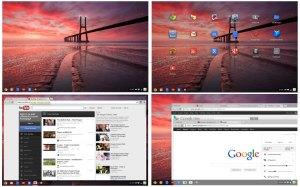 Google Chrome OS Aura.