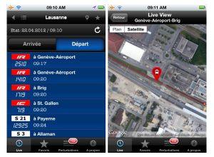 Train en retard 2.0 avec carte interactive.