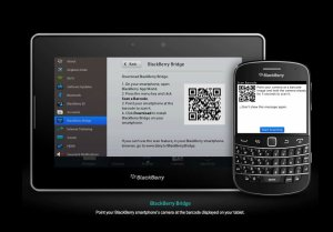 Le couple BlackBerry Bold 9900 - PlayBook OS 2.0.