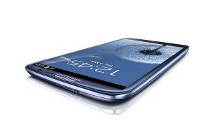Le superphone Samsung Galaxy S3.