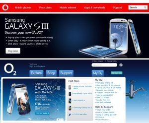 Dans un pays où la concurrence existe, le Samsung Galaxy S3 fait la une des sites...